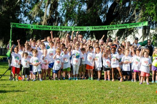 Healthy Kids Running group photo
